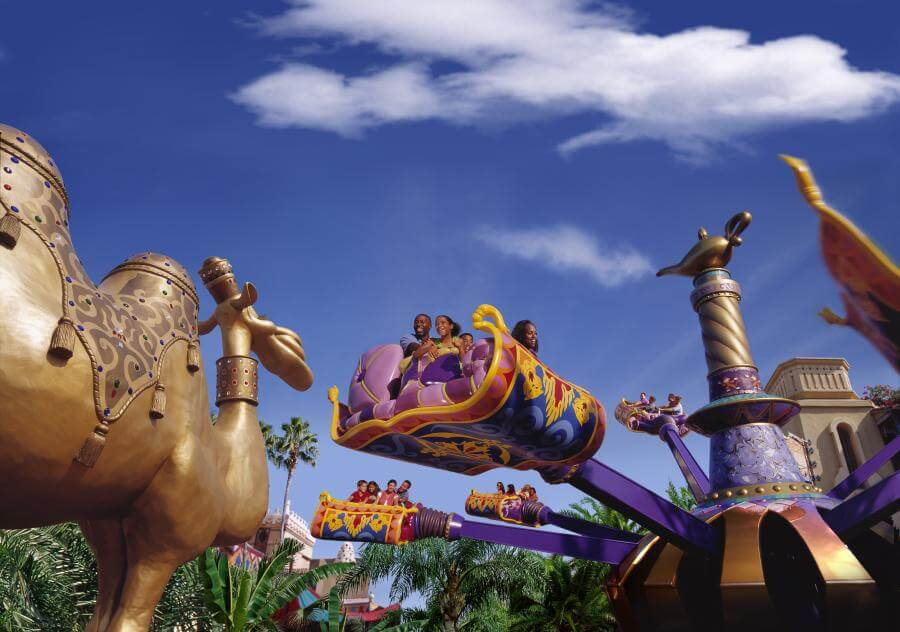 The Magic Carpets of Aladdin Attraction